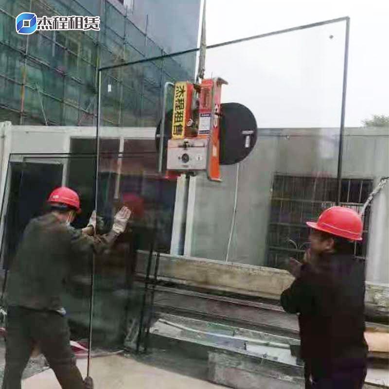 电动玻璃吸盘器出租应用玻璃安装