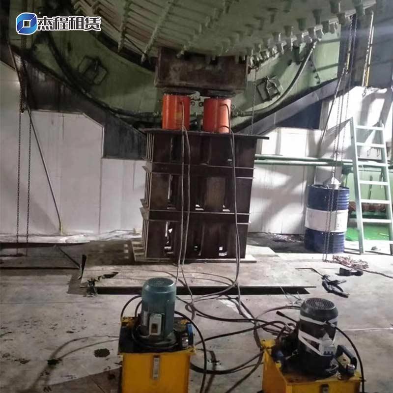 大吨位液压千斤顶出租应用于设备安装
