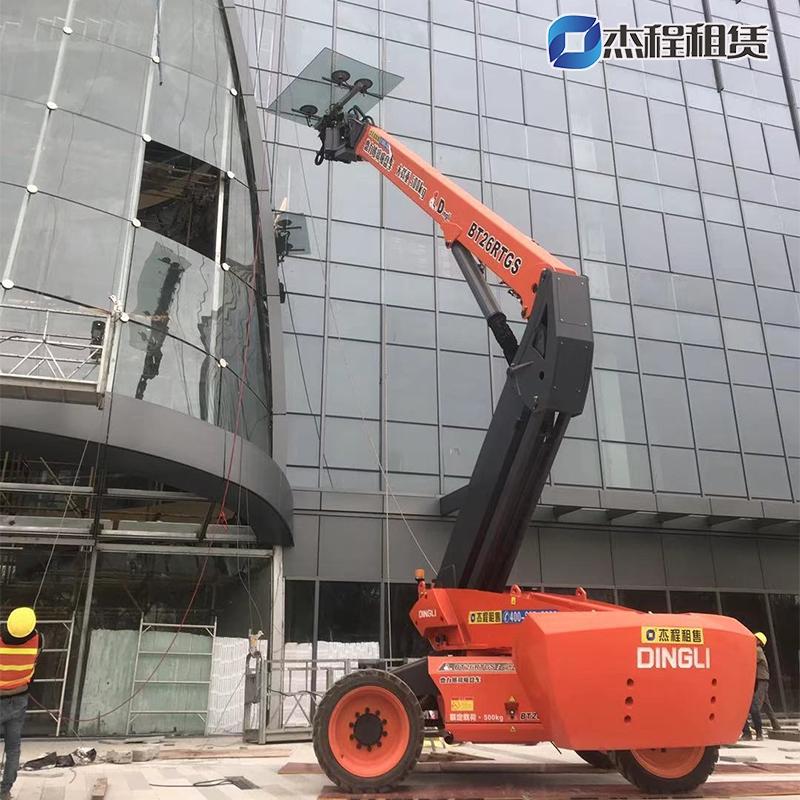 26米玻璃吸盘车出租(500KG)