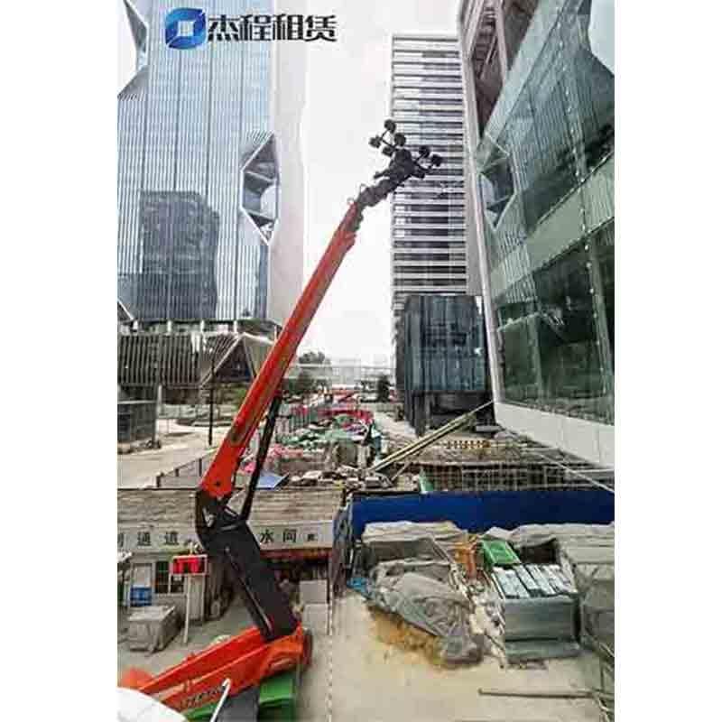 电动玻璃吸盘车出租应用于高层玻璃安装施工